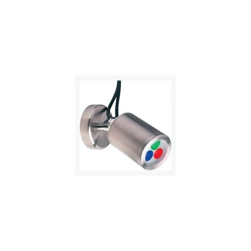 Collingwood Lighting WL020A RGB Stainless Steel LED Colour Change Wall Light