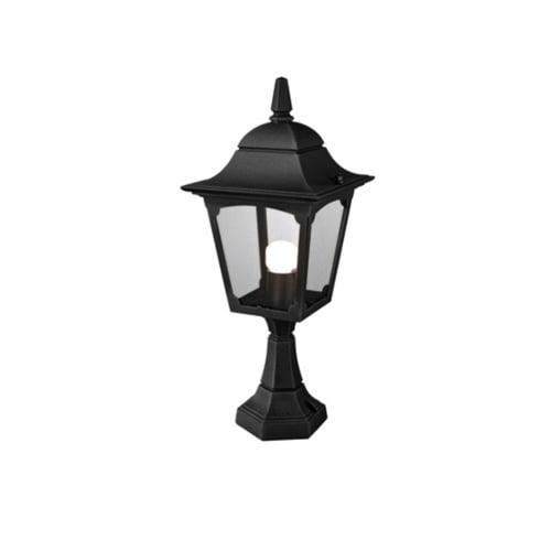 Elstead Chapel CP4 Pedestal Lantern Black