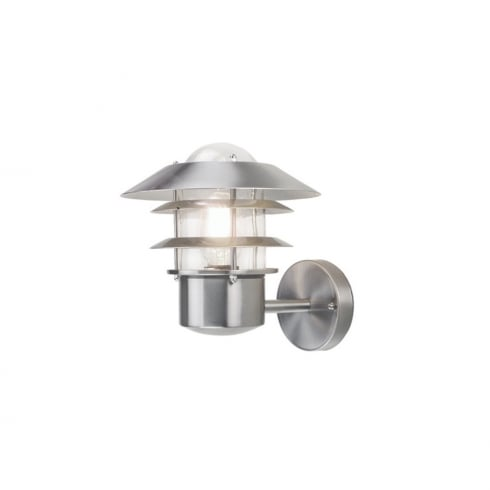 Elstead Lighting Helsinki Stainless Steel Outdoor Wall Lantern
