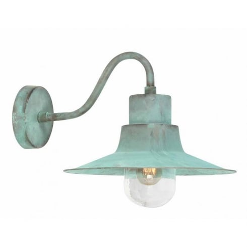 Elstead Lighting Sheldon Verdigris Outdoor Wall Light