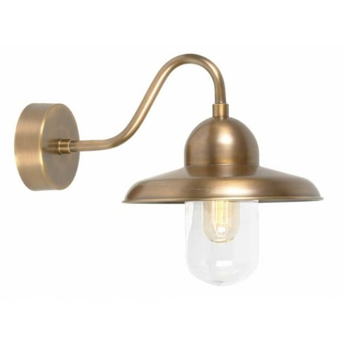 Elstead Lighting Somerton Brass Wall Light