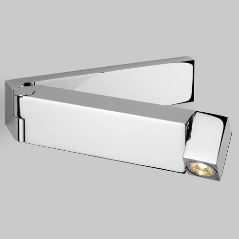 Astro Lighting Tosca 0850 Polished Chrome LED Switched Adjustable Wall Spot Light