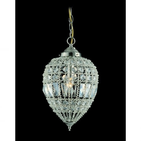 Impex Russell BOMBAY CO01219/01/L Crystal Beaded Pendant Large