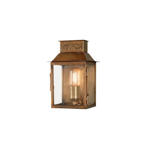 Elstead Lighting Lambeth Palace Outdoor Brass Wall Lantern
