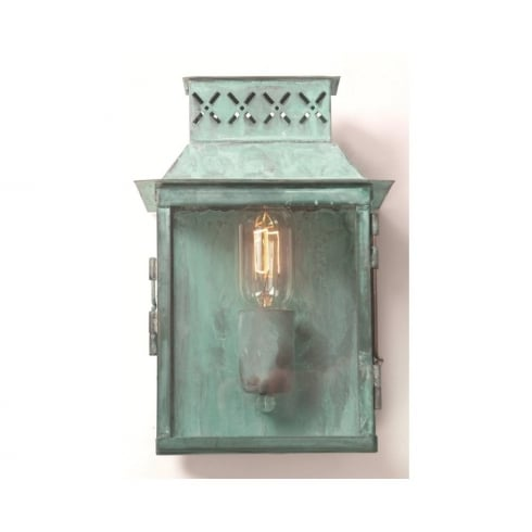 Elstead Lambeth Palace Outdoor Verdigris Wall Lantern