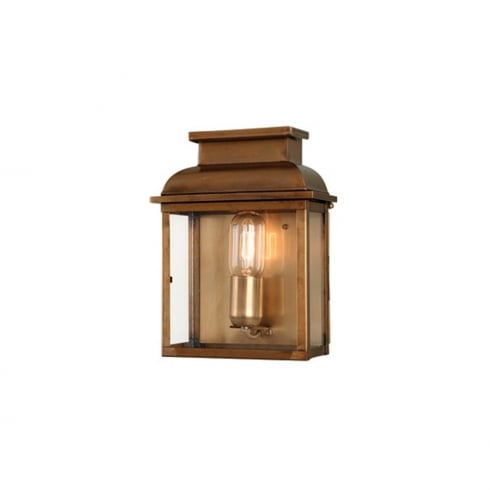 Elstead Old Bailey Outdoor Wall Lantern Brass