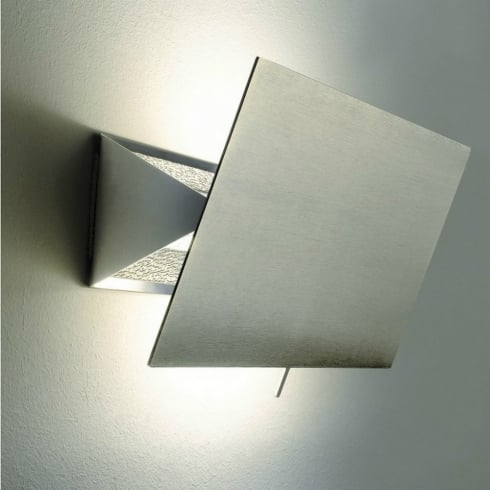 Karboxx Light Shadow 11PAWH02 Nickel Wall Light