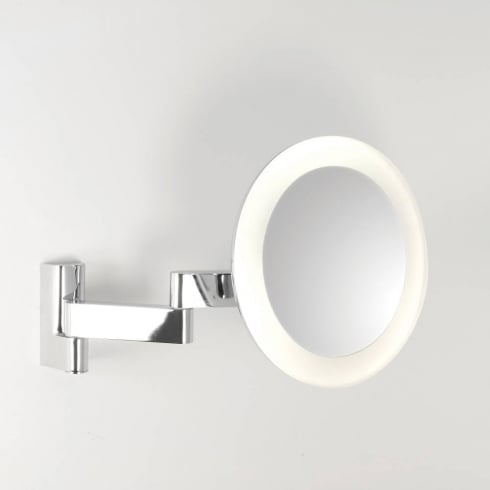Astro Lighting Niimi 0760 Round Polished Chrome LED Bathroom Illuminated Mirror