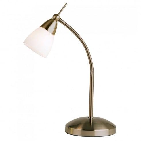 Endon 652-TLAN Antique Table & Desk Lamp