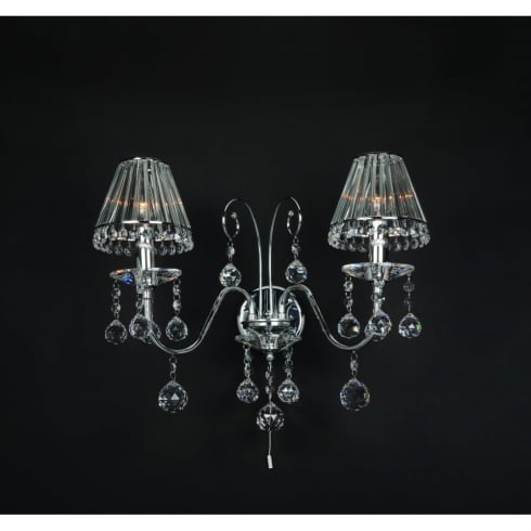 Impex Russell PERPIGNAN CE08800/02/WB/CH Polished Chrome Wall Light