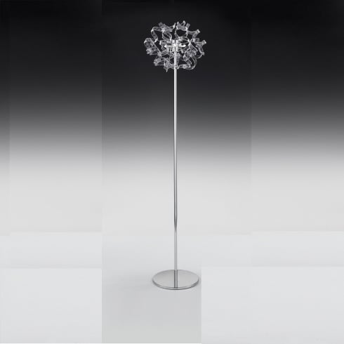 Metal Lux Astro 206.740.01 A420P Crystal Floor Lamp