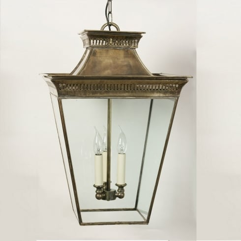 Limehouse Period and Replica Antique Lighting Pagoda 492A Light Antique Pendant Large