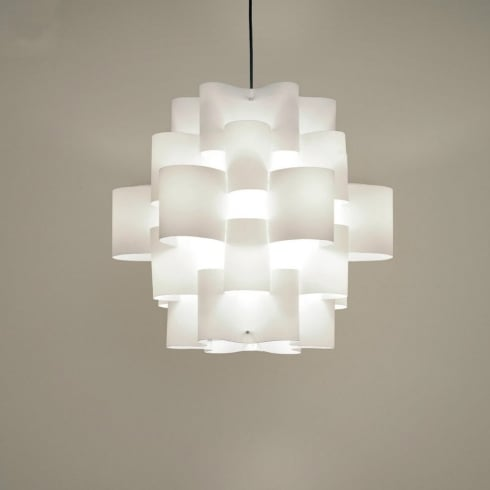Karboxx Light Sun 50 05SPWH50S White Pendant Ceiling Light