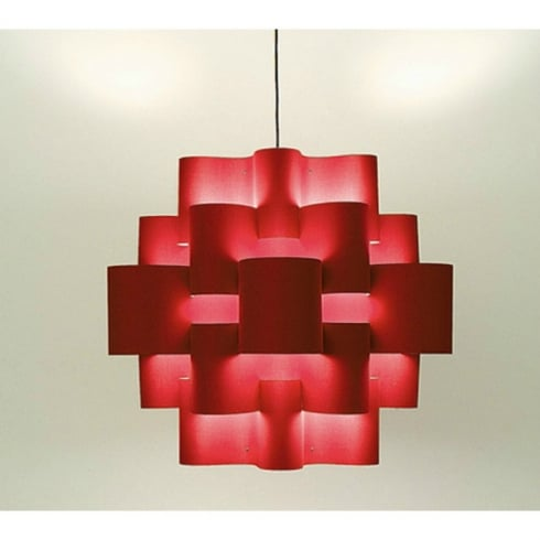 Karboxx Light Sun 50 05SPRD50S Red Pendant Ceiling Light