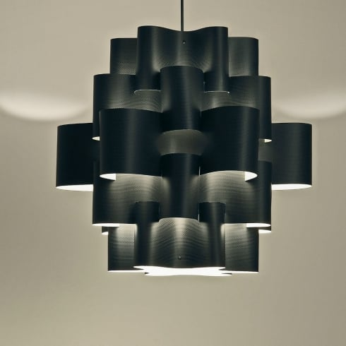 Karboxx Light Sun 50 05SPBK50S Black Pendant Ceiling Light