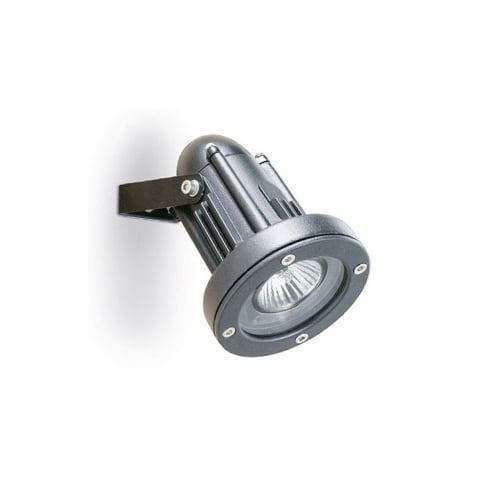 Leds C4 Helio 05-9640-34-37 Grey Injected Aluminium & Hardened Glass Wall Light