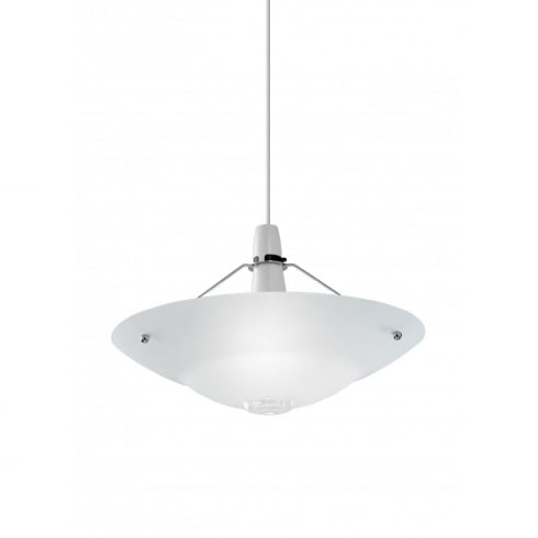 Endon Lighting NE-81 Opal Glass Pendant