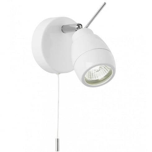 Endon Lighting EL-20093 White Wall Spotlight