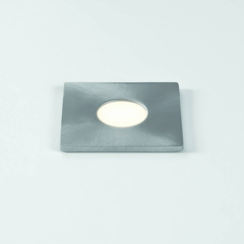 Astro Terra Square 28 LED Ground Light Brushed Stainless Steel