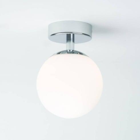 Astro Denver Flush Ceiling Light Polished Chrome