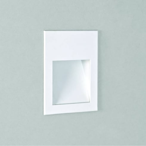 Astro Lighting Borgo 54 7545 White LED Recessed Bathroom Wall Light IP65