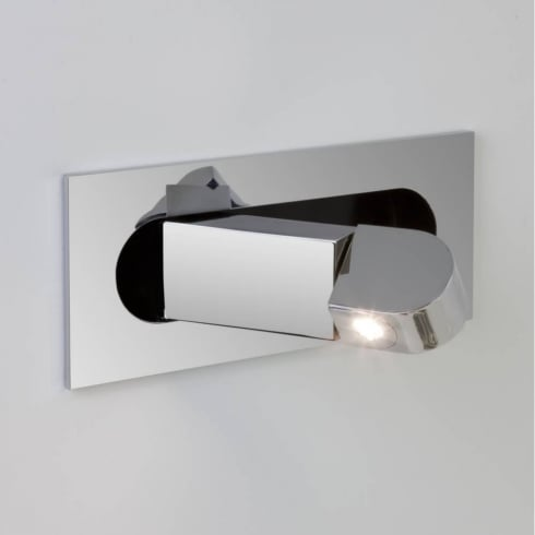 Astro Lighting Digit 7164 Recessed Switched Adjustable LED Wall Spot Light in Chrome