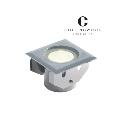 Collingwood GL016 SQ WH Stainless Steel LED Ground Light