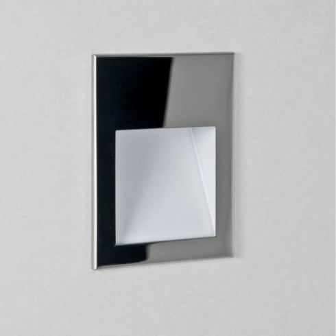 Astro Lighting Borgo 90 0974 Square Polished Chrome LED Wall Light IP20