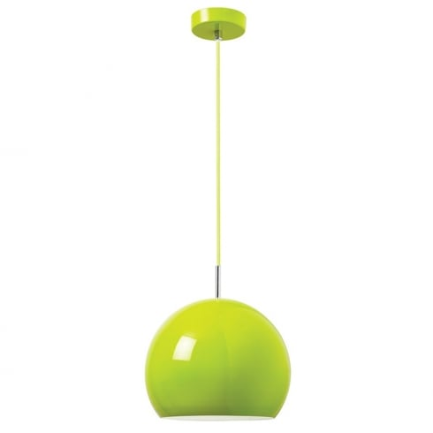 Endon Lighting Alzira ALZIRA-GR Green Pendant Ceiling Light