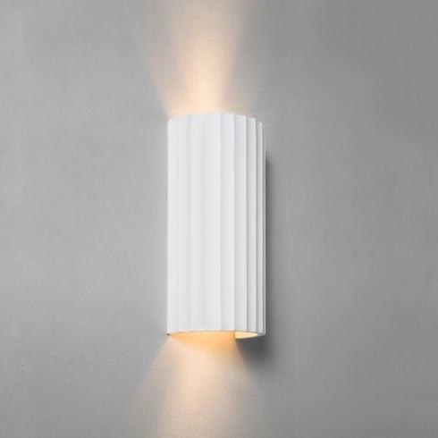 Astro Kymi 300 Surface Wall Light White Ceramic
