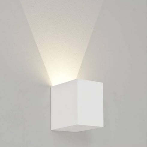 Astro Parma 100 LED Up/Light Surface Wall Light Plaster