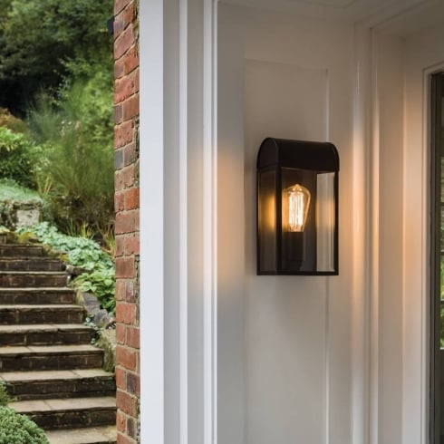 Astro Newbury Outdoor Surface Wall Light Black