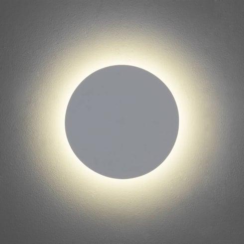 Astro Eclipse Round 300 LED Surface Wall Light Matt White