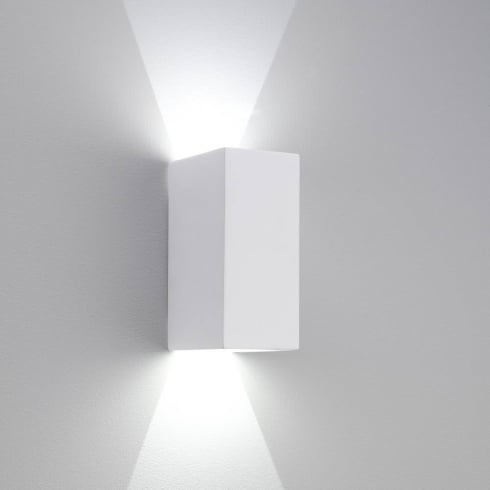 Astro Parma 160 LED Surface Wall Light Plaster