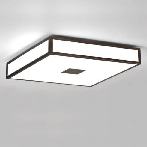 Astro Mashiko 400 Square Flush Bathroom Ceiling Light