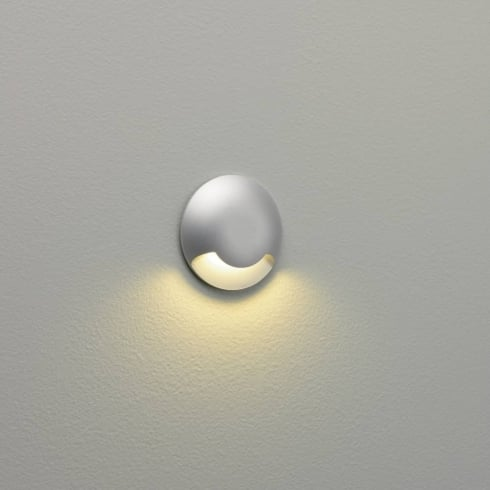 Astro Outdoor Beam One LED Wall Light Matt Silver