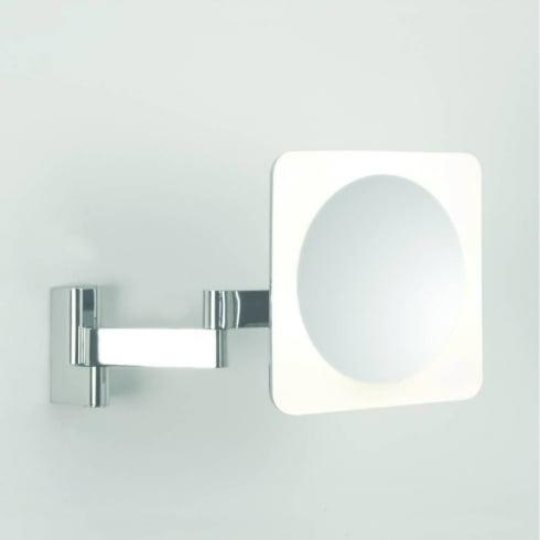 Astro Niimi Square Polished Chrome LED Bathroom Illuminated Mirror