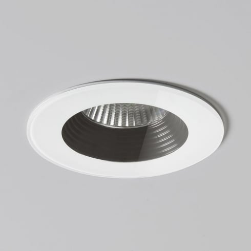 Astro Vetro Round Fire Rated Recessed Bathroom Downlight White