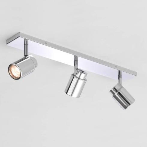 Astro Como Triple Bar Spotlight Polished Chrome