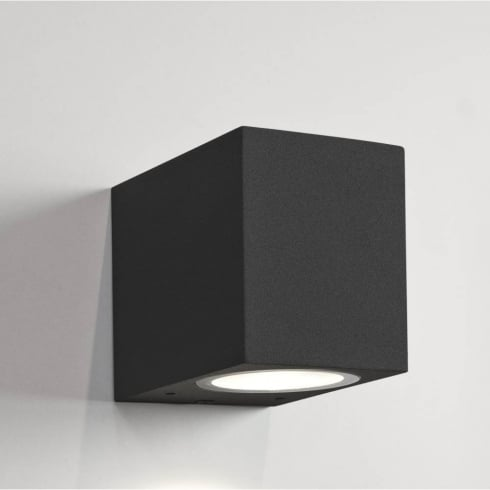 Astro Chios 80 Exterior Surface Wall Light Black Unswitched