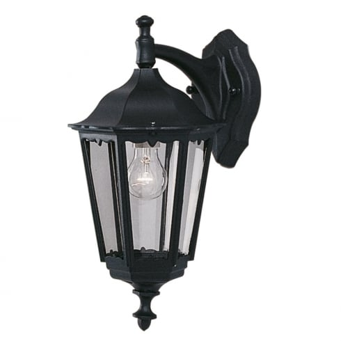 Searchlight Bel Aire 82531BK Outdoor Surface Wall Light