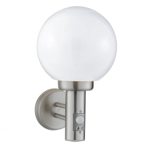 Searchlight Orb 085 Outdoor Surface Wall Light Stainless Steel