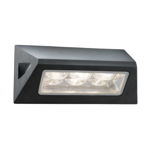 Searchlight 5513BK Outdoor Surface Wall Light