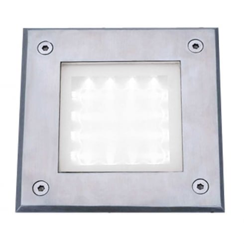 Searchlight Outdoor Walkover Recessed Light 9909WH Stainless Steel
