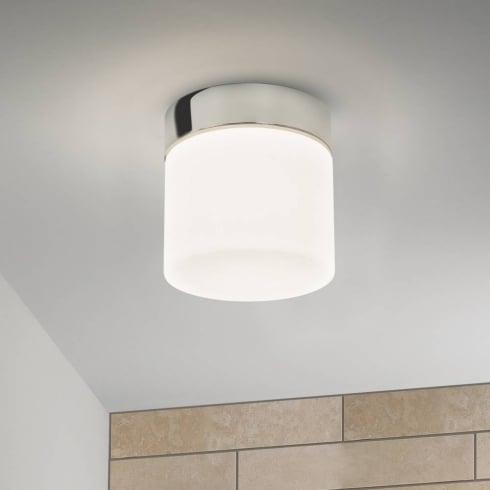 Astro Sabina Flush Ceiling Light Polished Chrome