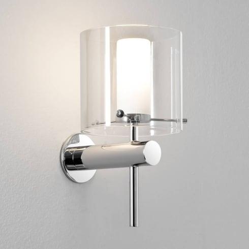 Astro Arezzo Bathroom Surface Wall Light Polished Chrome