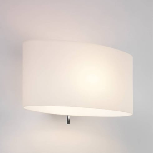 Astro Tokyo Switched Surface Wall Light White Glass