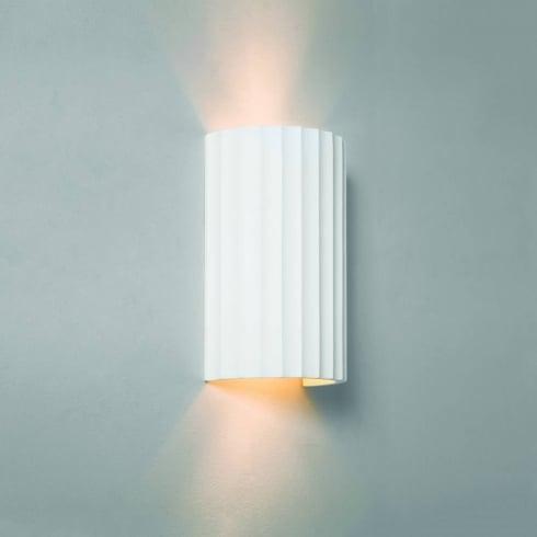 Astro Kymi 220 Surface Wall Light White Ceramic