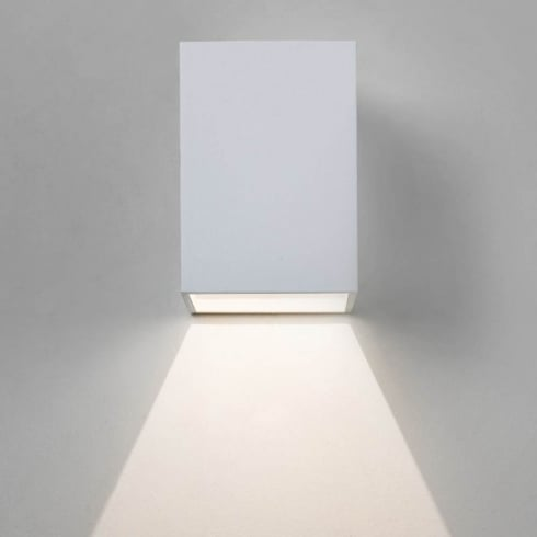 Astro Oslo Surface Wall light Textured White