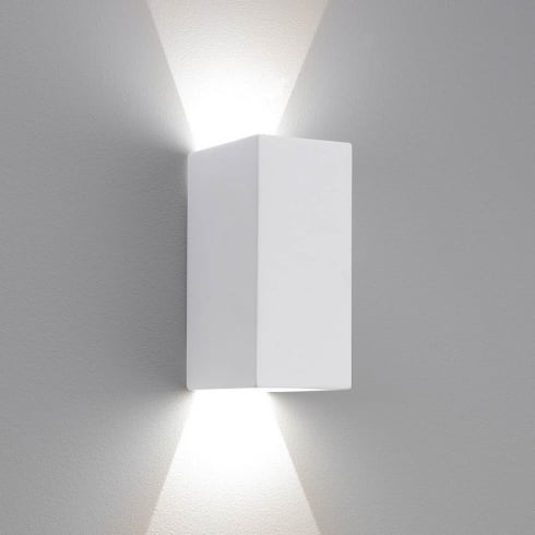 Astro Parma 160 LED Surface Wall Light White Plaster